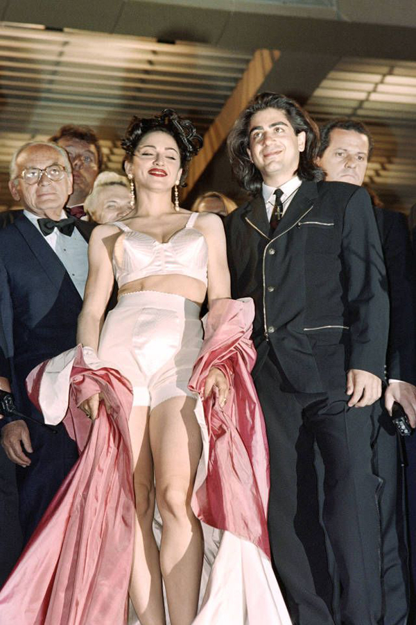 maddona in cannes