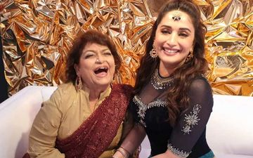 Happy Birthday Madhuri Dixit: Legendary Choreographer Saroj Khan Wishes Her 'Inspiration' With Sweet UNSEEN Pics From The Past