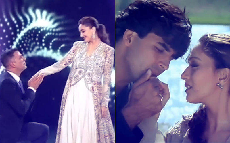 Akshay Kumar & Madhuri Dixit Take Us Back To The '90s – Watch Video
