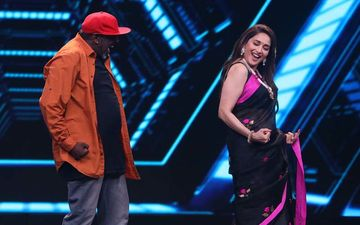 Madhuri Dixit Recreates Her Chartbuster Song Kay Sera Sera On Dance Deewane 2