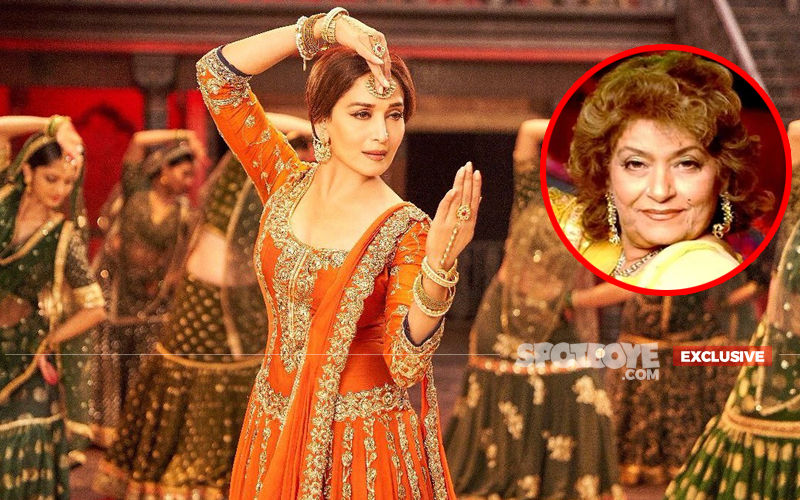 """Madhuri Dixit Reveals, """"Yes, I Asked For Saroj Khan To Choreograph My Dance In Kalank"""""""