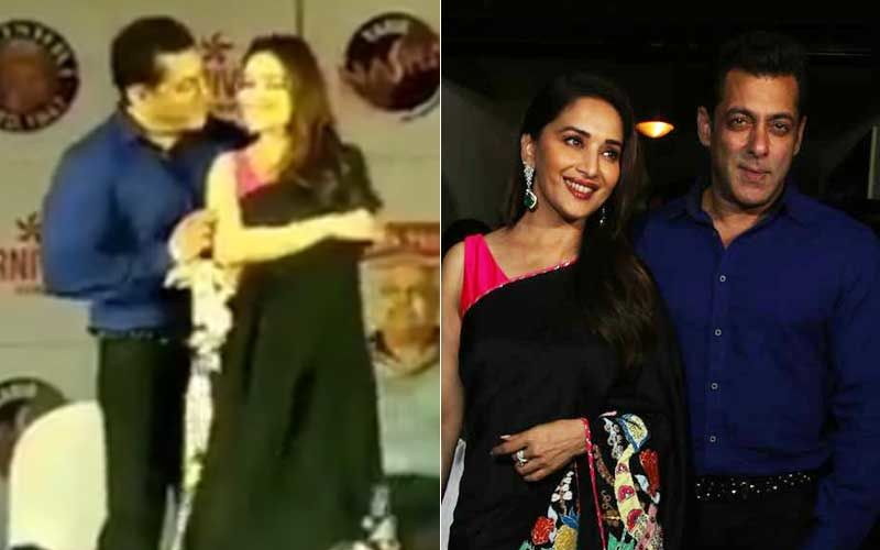 25 Years Of Hum Aapke Hain Koun Screening: Salman Khan-Madhuri Dixit Recreate 'Phela Phela Pyaar'