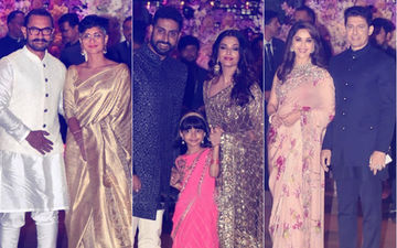 Ambani Engagement Party: Aishwarya-Abhishek, Kiran-Aamir, Madhuri-Sriram Add To The Glamour
