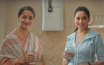 Madhuri Dixit Goes 'Judwaa' For A Water Purifier Commercial- Watch Video