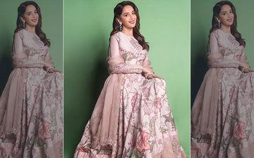 Madhuri Dixit Nene's Elegant New Photoshoot In A Pastel Pink Lehenga Redefines Grace