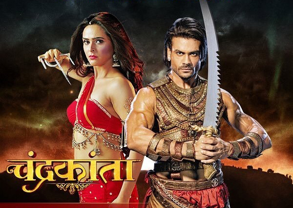 madhurima tuli and vishal aditya singh in chandrakanta
