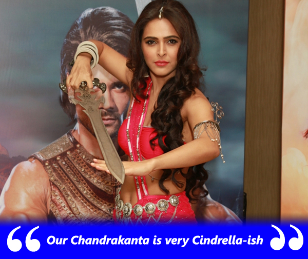 madhurima tuli plays chandrakanta