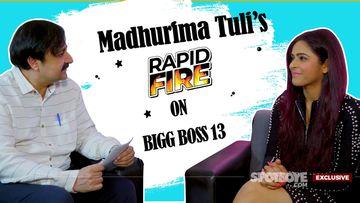 Madhurima Tuli's RAPID FIRE On Her Bigg Boss 13 Co-Contestants- EXCLUSIVE