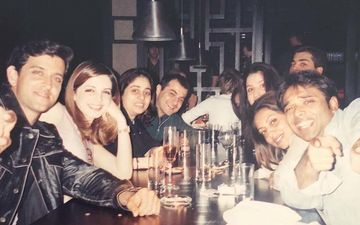 These Throwback Pictures of Gauri Khan, Hrithik Roshan, Sussanne Khan And Karan Johar Are Pure Gold
