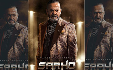 Saaho New Poster: Meet Mahesh Manjrekar As Prince From Prabhas And Shraddha Kapoor's Action Flick