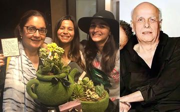 Alia Bhatt And Shaheen Celebrate Sister Pooja Bhatt's Birthday; Made Sweeter By The Arrival Of An Anonymous Gift