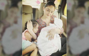 Mahhi Vij Shares An Oh-So-Adorable Photo With Her Two Beautiful Daughters