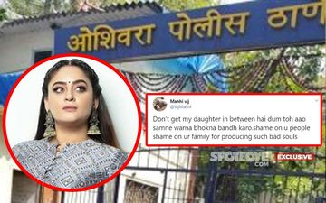 Mahhi Vij Waits At Police Station, Challenging Troll Who Threatened To Rape Her Mother; Says, 'Will F*&K His Happiness'- EXCLUSIVE