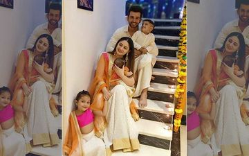 Diwali 2019: Mahhi Vij And Jay Bhanushali Share A Full Family Portrait Including Newborn Tara