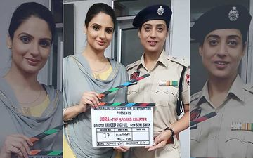 Jora-The Second Chapter: Shoot Goes on Floor, Mahie Gill Plays Cop