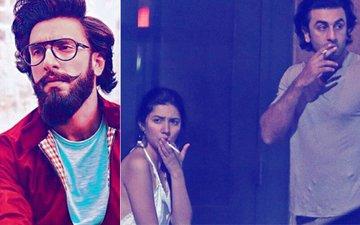 Ranveer Singh Has Something To Say About Ranbir Kapoor & Mahira Khan's VIRAL Pictures