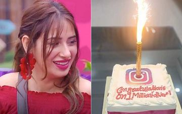 Bigg Boss 13: Mahira Sharma Clocks 1M Follower On Instagram; Team Celebrates With A Huge Cake