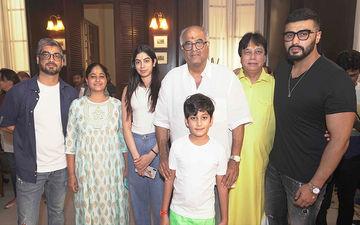 Maidaan: Boney Kapoor, Arjun Kapoor, Khushi And Anshula Grace The Muhurat Puja Of This Ajay Devgn Film
