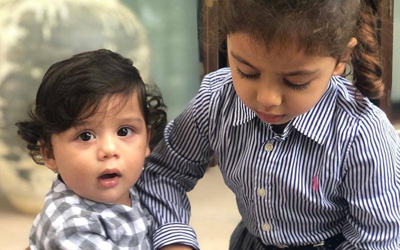 Mira Rajput Shares Her Kids, Misha-Zain's Adorable Playtime Banter!