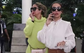 An Irritated Malaika Arora Snaps At Someone As She Returns From Jaipur With Sister Amrita – Watch Viral Video
