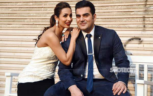 malaika arora and arbaaz khan during the finale promotion of power couple