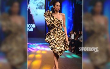 Malaika Arora Is A Hot-Stepper In Leopard Print Outfit At The 5th Edition Of Tech Fashion Tour