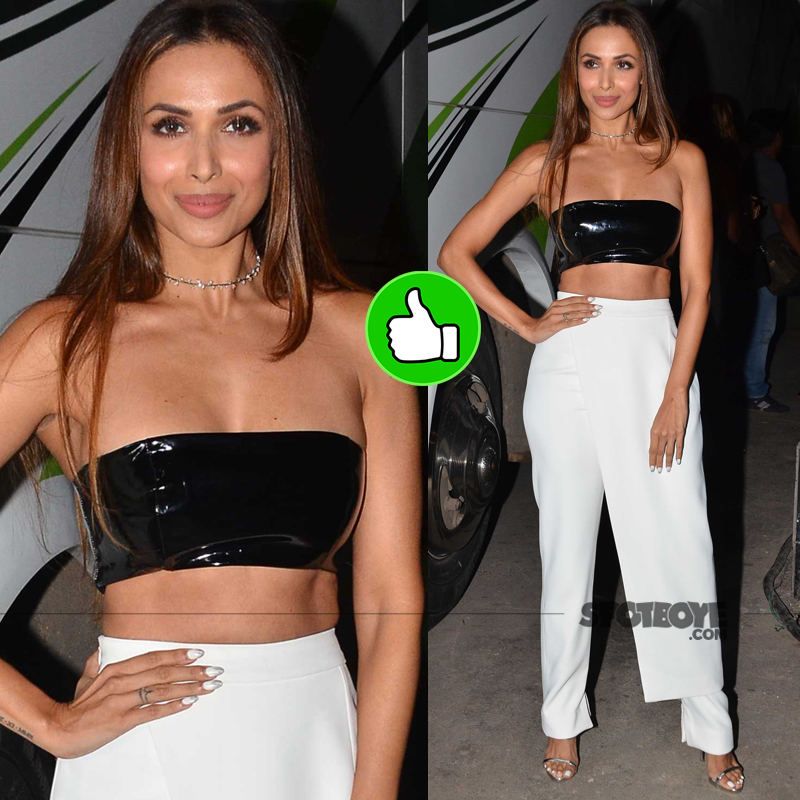malaika arora khan snapped at an event
