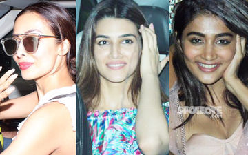 Malaika Arora, Kriti Sanon, Pooja Hegde And Few More, Party At Farah Khan's Residence