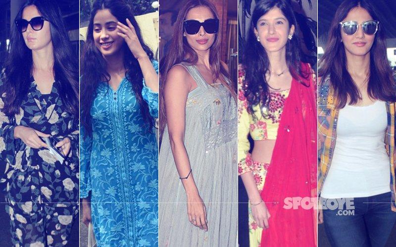 STUNNER OR BUMMER: Katrina Kaif, Jhanvi Kapoor, Malaika Arora, Shanaya Kapoor Or Vaani Kapoor?