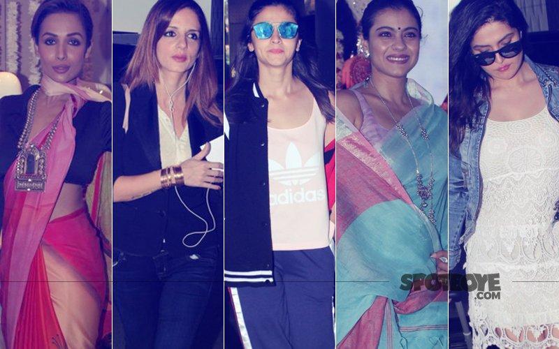 STUNNER OR BUMMER: Malaika Arora, Sussanne Khan, Alia Bhatt, Kajol Or Zareen Khan?