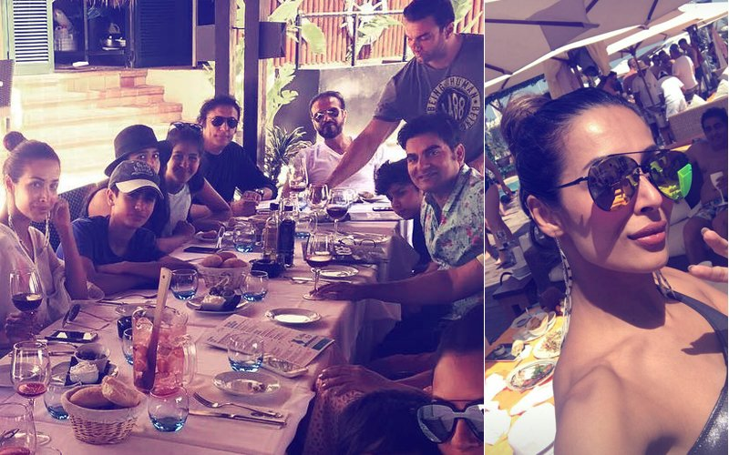 Sexy Saturday: Malaika Arora & Arbaaz Khan Are Living It Up In Mallorca With Their Gang