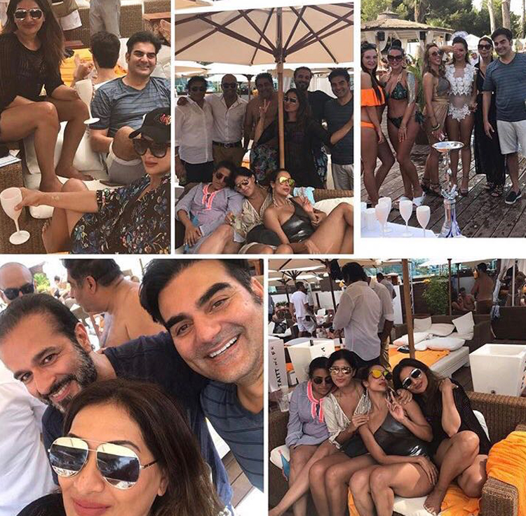 malaika arora with ex husband arbaaz khan