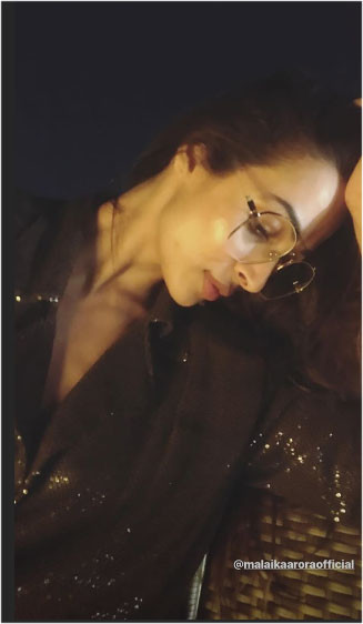 malaika arora at the party