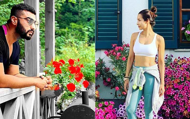 Malaika Arora And Arjun Kapoor Seem To Be Obsessed With Bavarian Flowers And Their Instagram Pictures Prove Just That