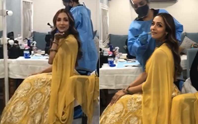India's Best Dancer: COVID-19 Survivor Malaika Arora Resumes Shoot; Shines Brighter Than A Sun In A Yellow Lehenga - VIDEO