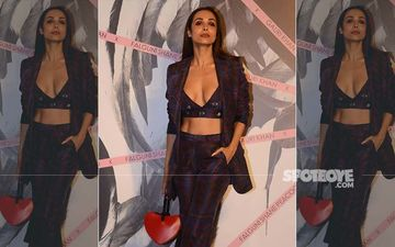 Malaika Arora Saves Herself From An 'Oops Moment' At Falguni Shane Peacock Store Launch - Watch Video