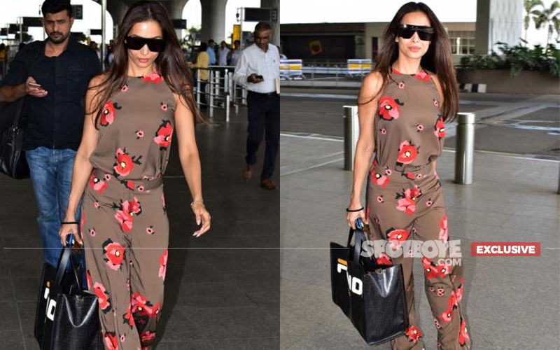 Fans Greet Malaika Arora Inside Chandigarh-Bound Flight And This Is How She Reacted- EXCLUSIVE