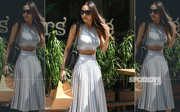 Malaika Arora Mixes Up Glamour And Sport For Her Lunch Date With Sister Amrita; It's Just FAB