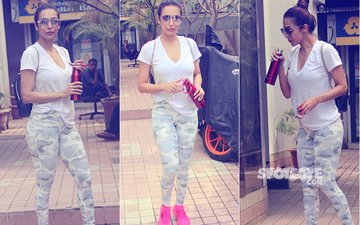 Malaika Arora NEVER SKIPS Her Workout! These 7 Pics Are Proof...