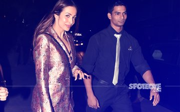 WHAT A SIGHT: 7 MUST-SEE Pictures Of Malaika Arora In A Pantsuit