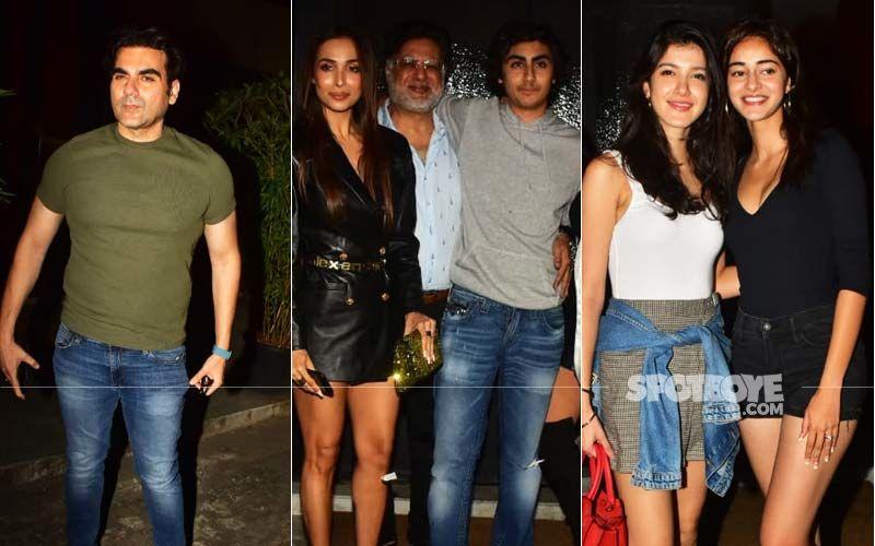 Malaika Arora And Arbaaz Khan Come Together To Celebrate Son Arhaan Khan's Birthday; Ananya Panday And Shanaya Kapoor Join In