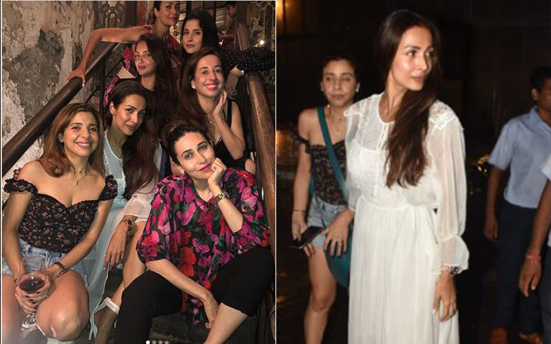 Malaika Arora's Night Out With Amrita Arora, Karisma Kapoor And Their Girl Gang: Papped