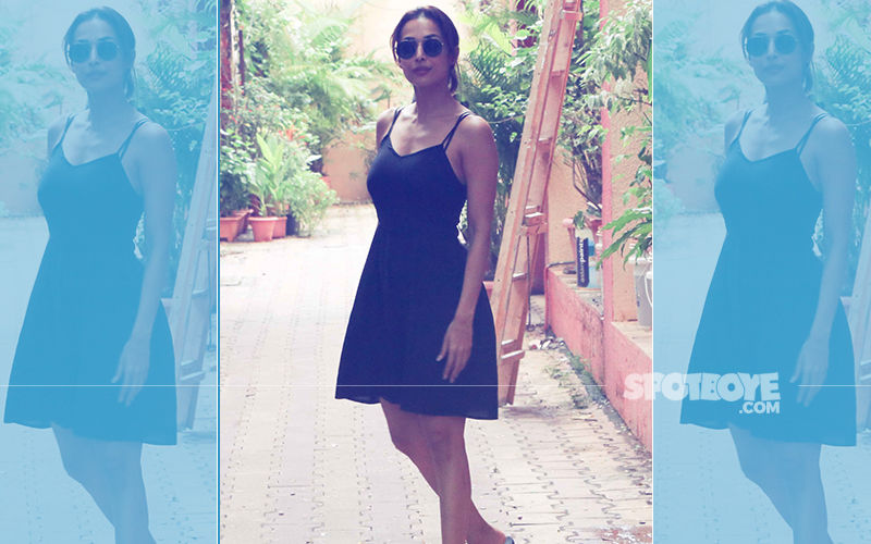 Bandra Diaries: Malaika Arora Looks Smoking Hot In Black