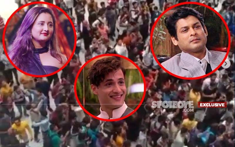 Bigg Boss 13 Oberoi Mall Task: Angry Fans Refuse To Leave After Rashami Desai, Asim Riaz And Sidharth Shukla's NO SHOW Announcement!- EXCLUSIVE