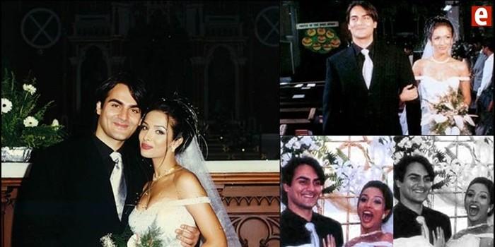 Malaika At Her Wedding Nuptials With Arbaaz Khan In 1998