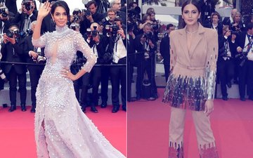 Cannes 2018: Mallika Sherawat & Huma Qureshi Disappoint Big Time!