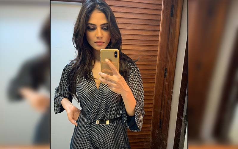 Malavika Mohan Nails The Street Style Look In A Two-Piece Baggy Gym Suit