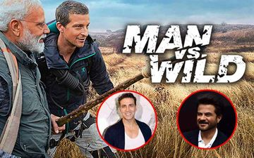 Man vs Wild With Bear Grylls and PM Narendra Modi: Akshay Kumar, Anil Kapoor And Others Eager To Watch Modi's Adventure on Discovery