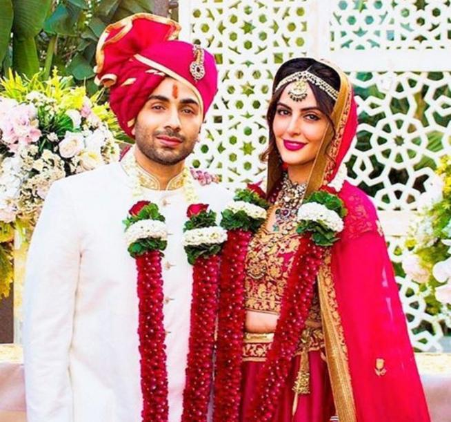 mandana karimi with gaurav gupta got married in 2017
