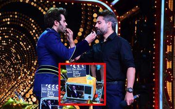 Maniesh Paul Birthday: BFF Iqbal Khan Surprises The Host On  The Sets Of Nach Baliye 9